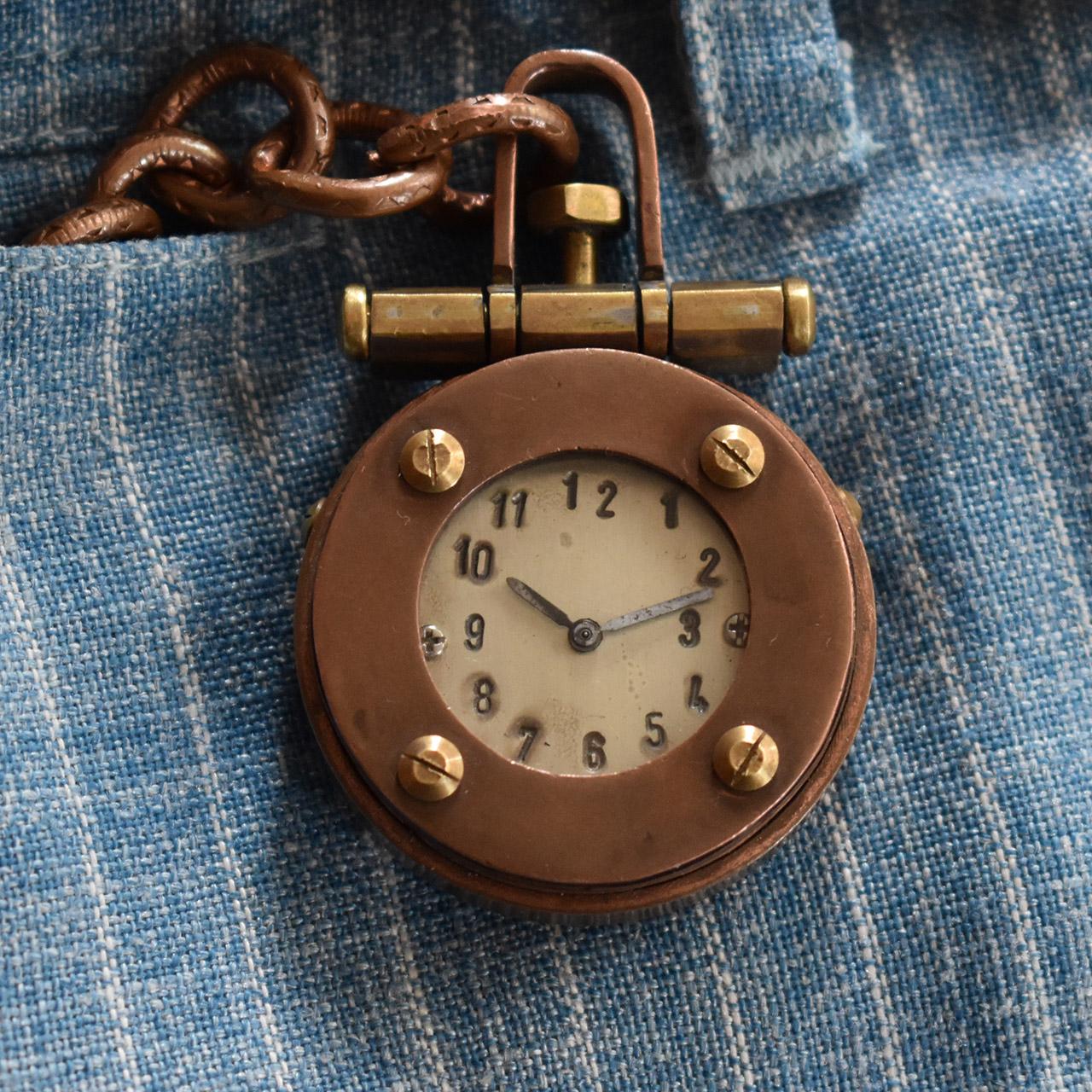 Armbanduhr anfertigen lassen - Atelier Horloges - Taschenuhr - Kupferkessel