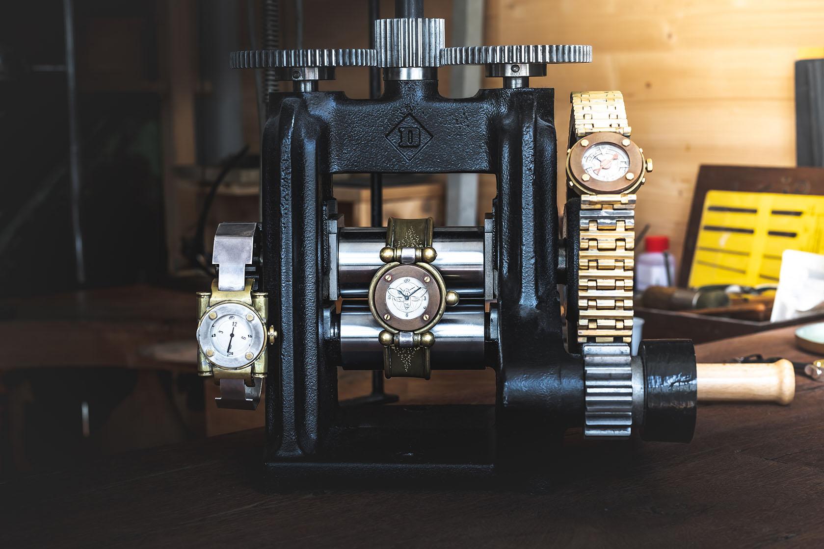 Armbanduhren Einzelstück - Atelier Horloges - Jochen Leopold