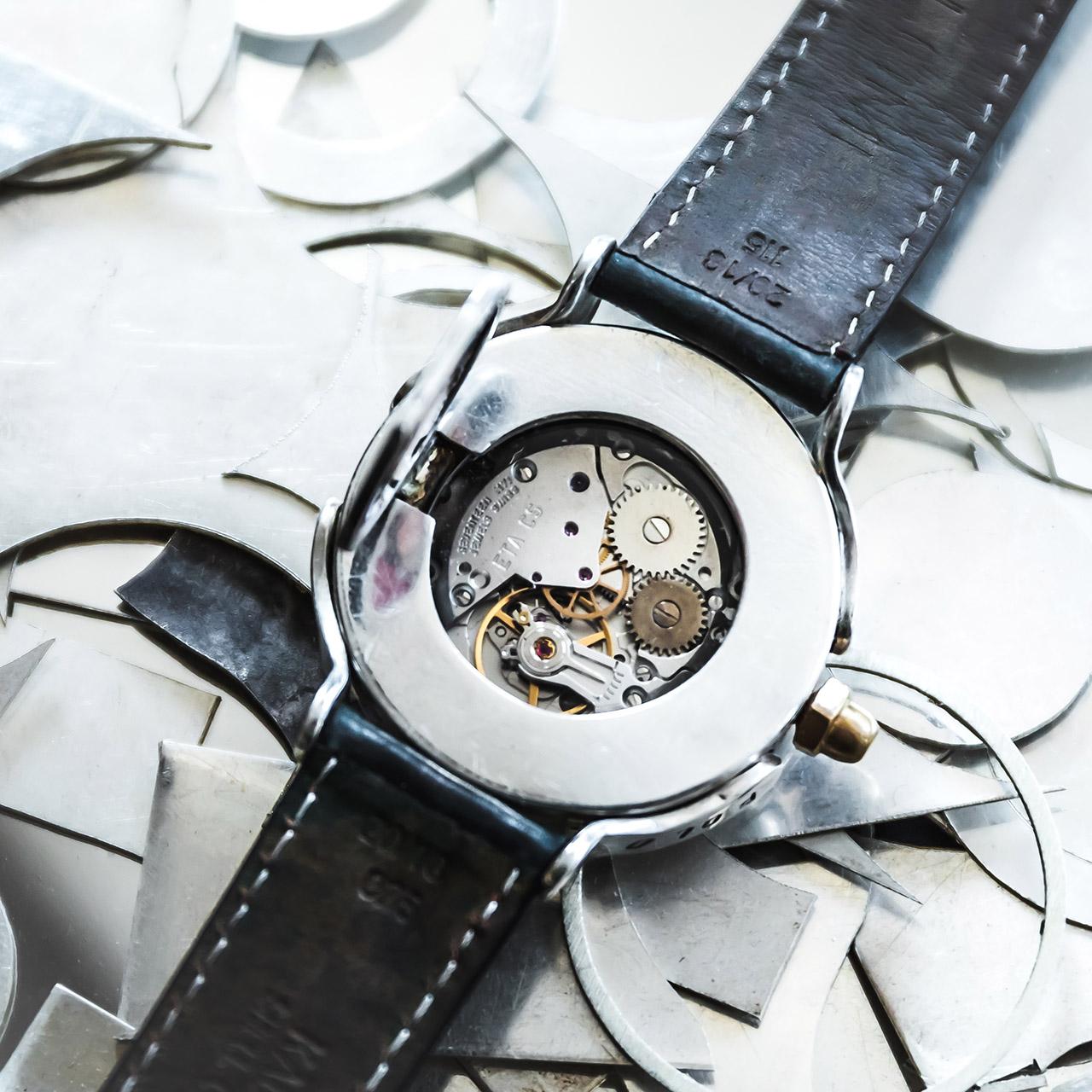Silberschmuck für Männer-Tortuga Noir - Atelier Horloges - Jochen Leopold