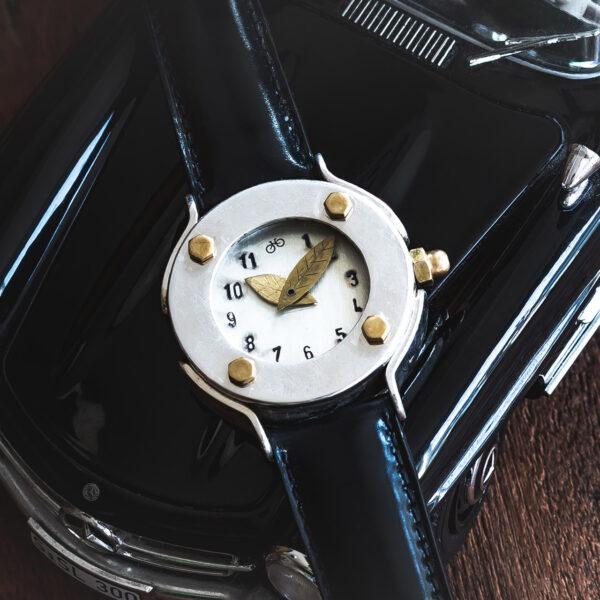 Armbanduhr anfertigen lassen - Atelier Horloges - Tortuga Argent